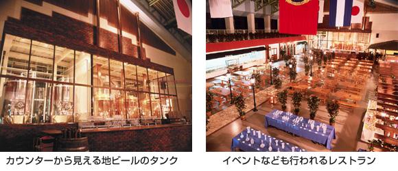 カウンターとレストラン